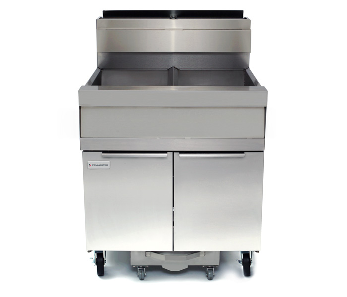 SCFSM250G Super Marathon Gas Fryer with Built-in Filtration
